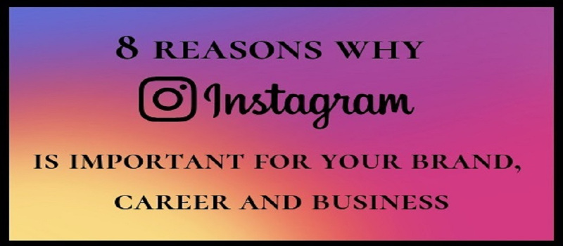 8 Reasons Why Instagram is Important For Your Brand