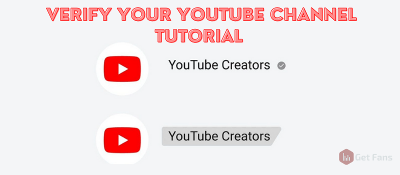 youtube channel verification