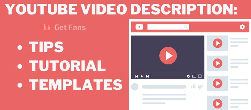 youtube video description guide cover